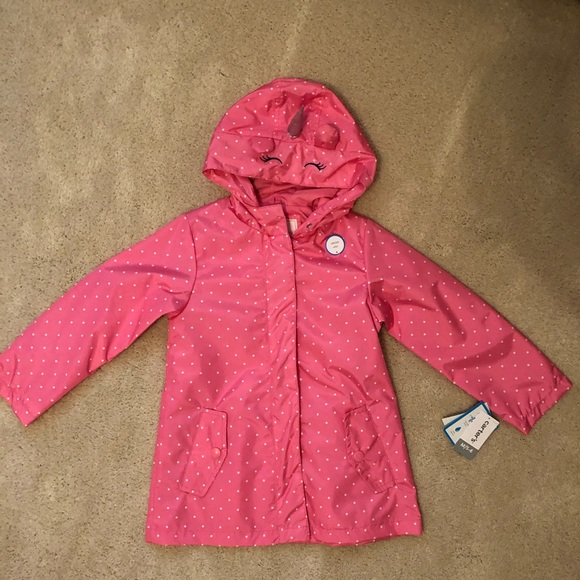 NEW GAP DOTTED WINDBREAKER JACKET SIZE 4T 5T